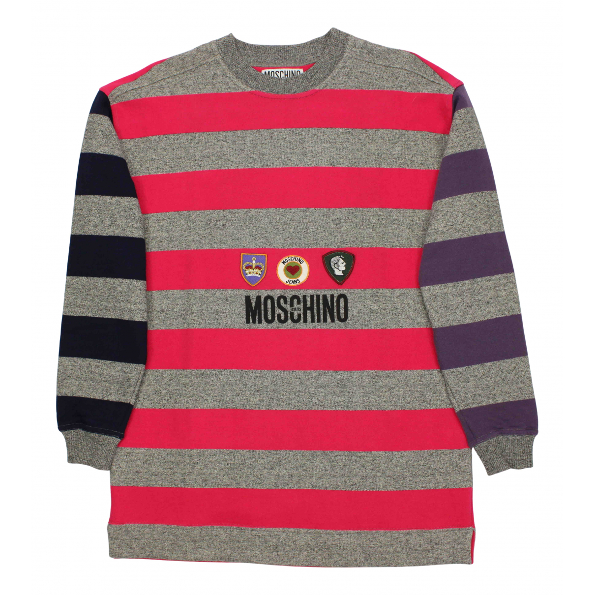 Moschino Cheap And Chic - Pull   pour femme en coton - multicolore