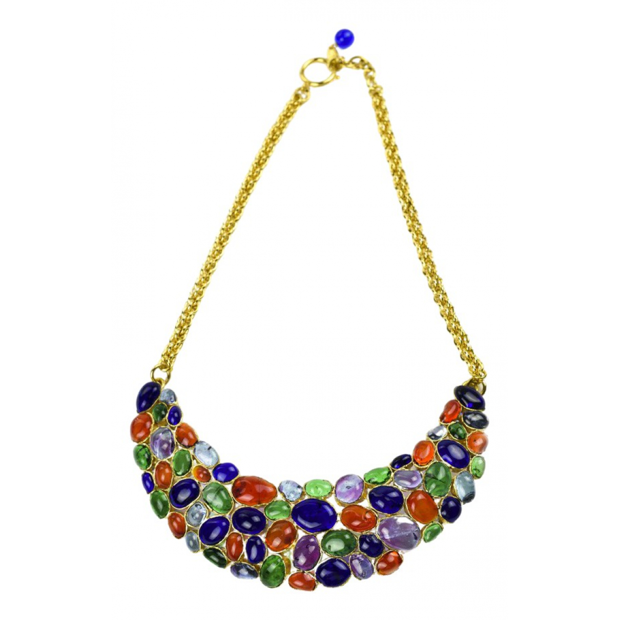 Chanel Gripoix Multicolour Glass necklace for Women N