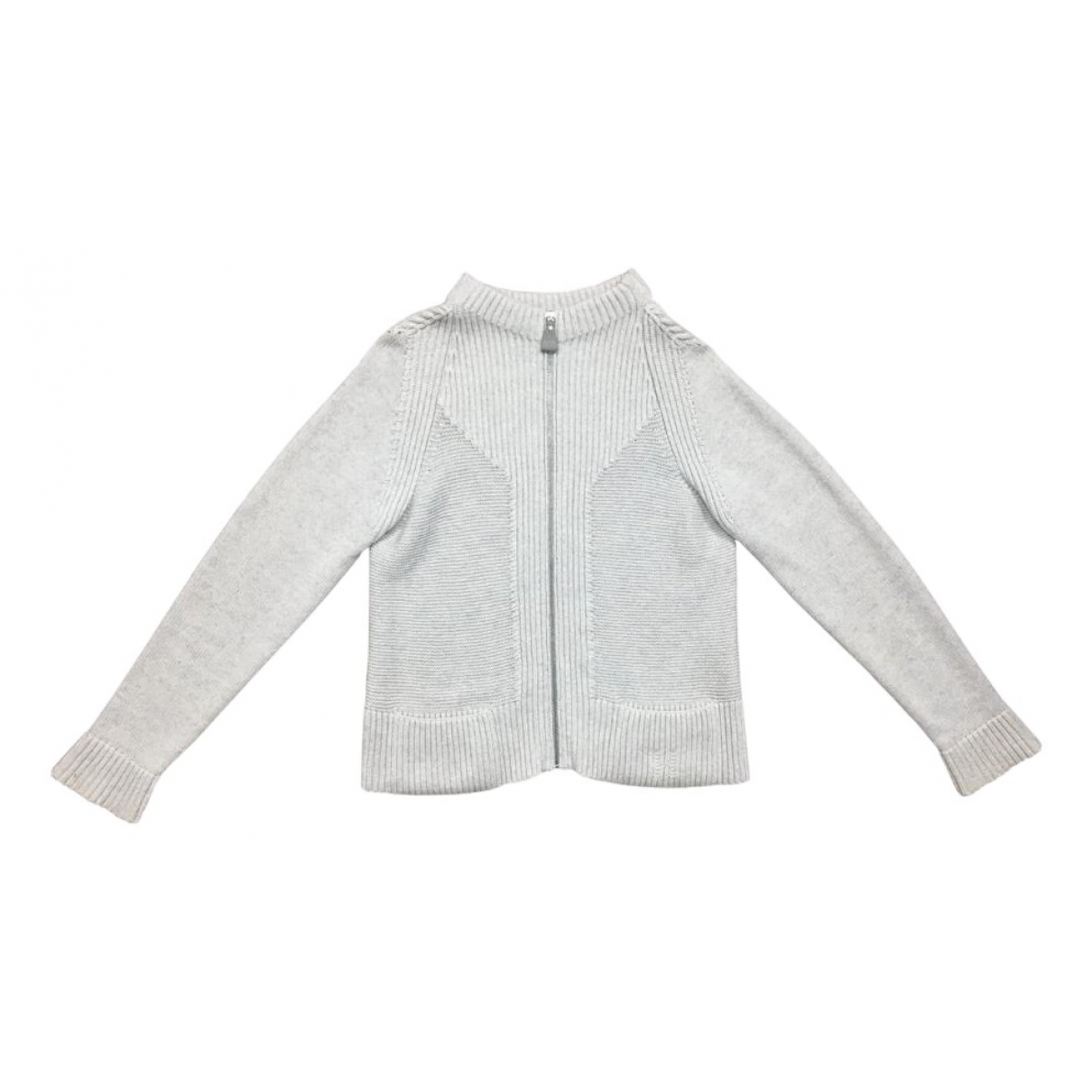 Hermes \N Pullover in  Grau Wolle
