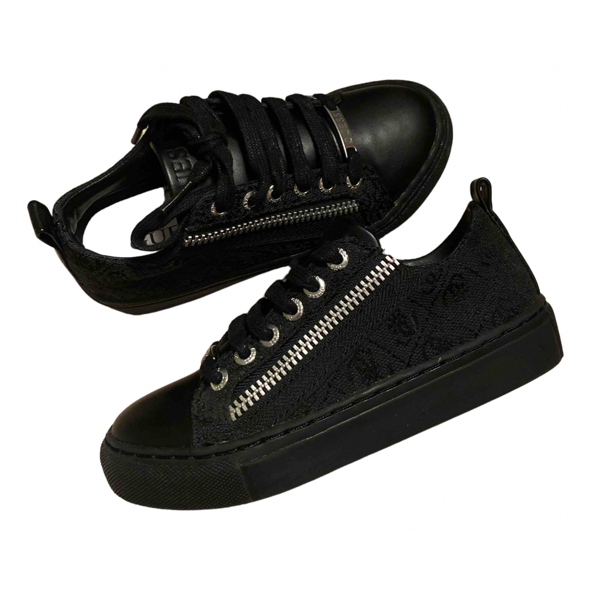 Guess N Black Cloth Trainers for Kids 28 FR