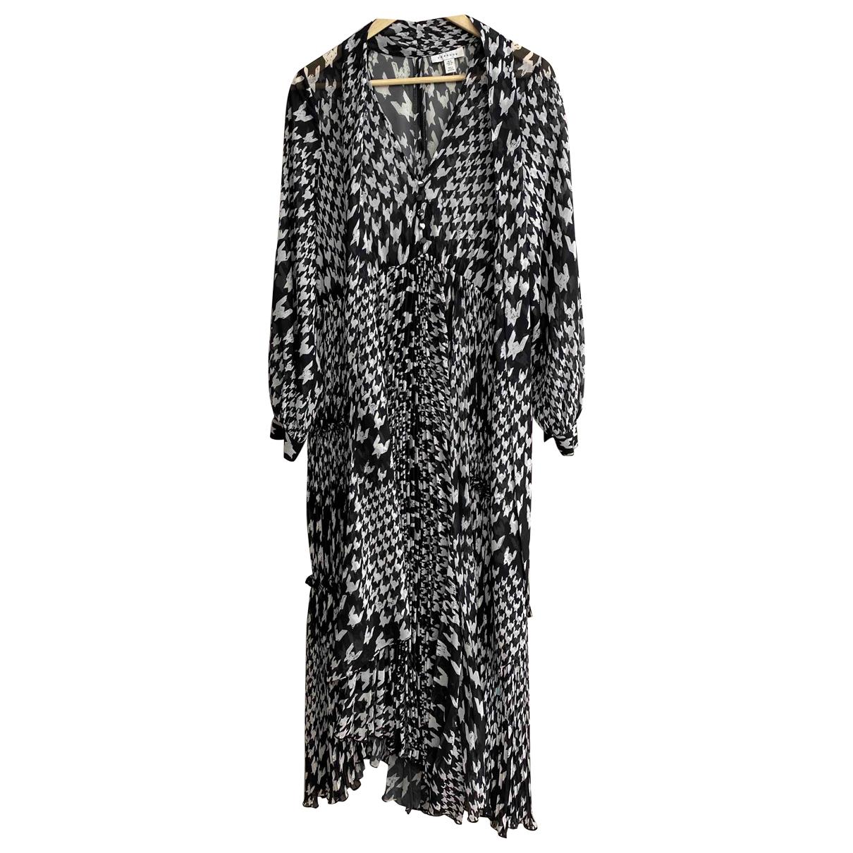 Tophop \N Kleid in  Schwarz Synthetik