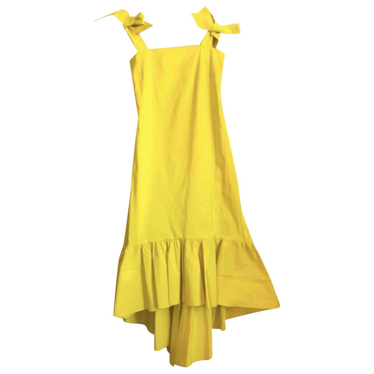 Coosy \N Kleid in  Gelb Polyester