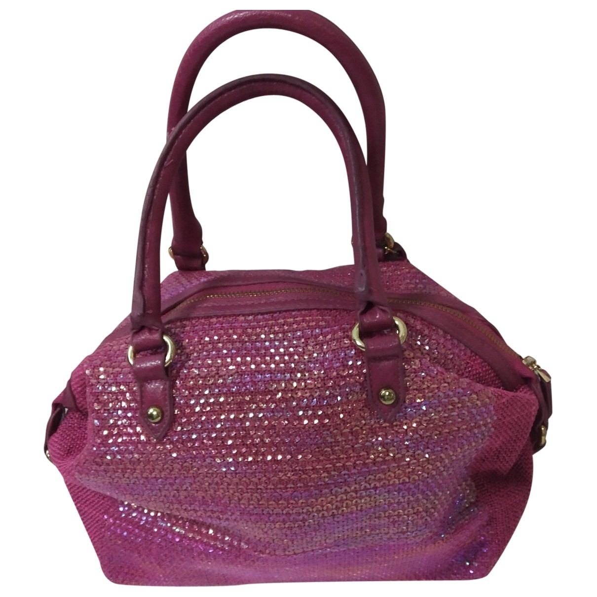 Pinko \N Pink Glitter handbag for Women \N