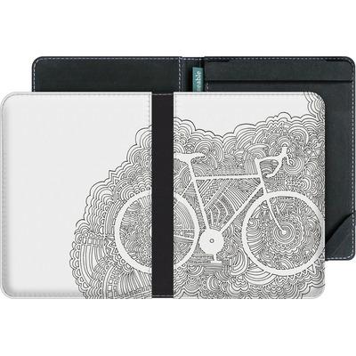 tolino vision eBook Reader Huelle - Bike Drawing Meditation von Kaitlyn Parker
