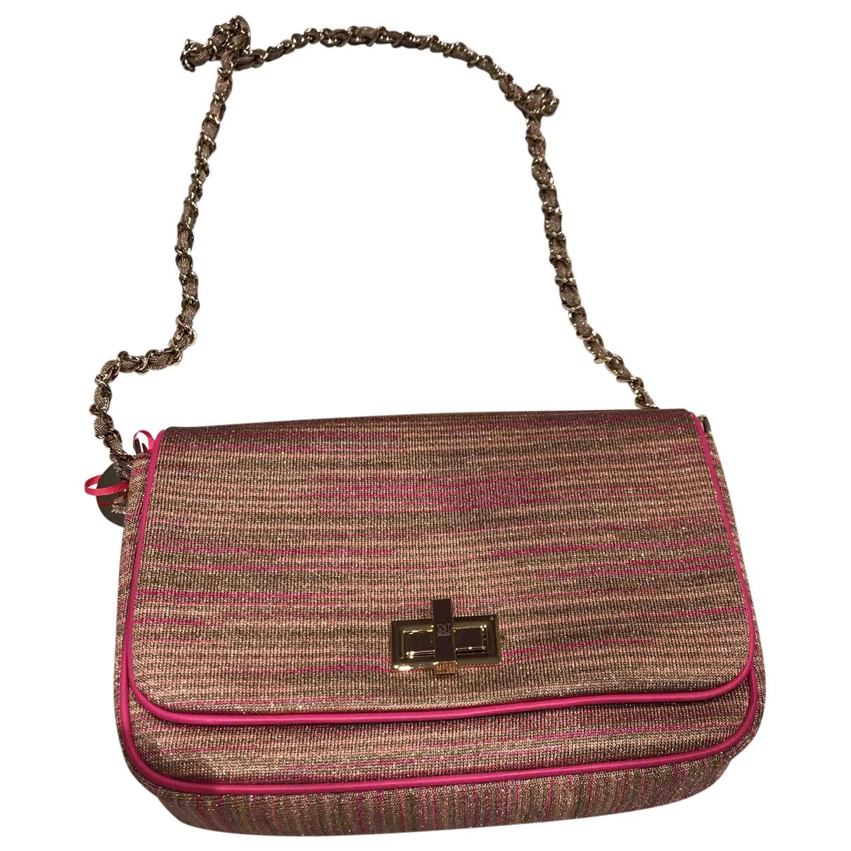 M Missoni \N Pink Leather handbag for Women \N