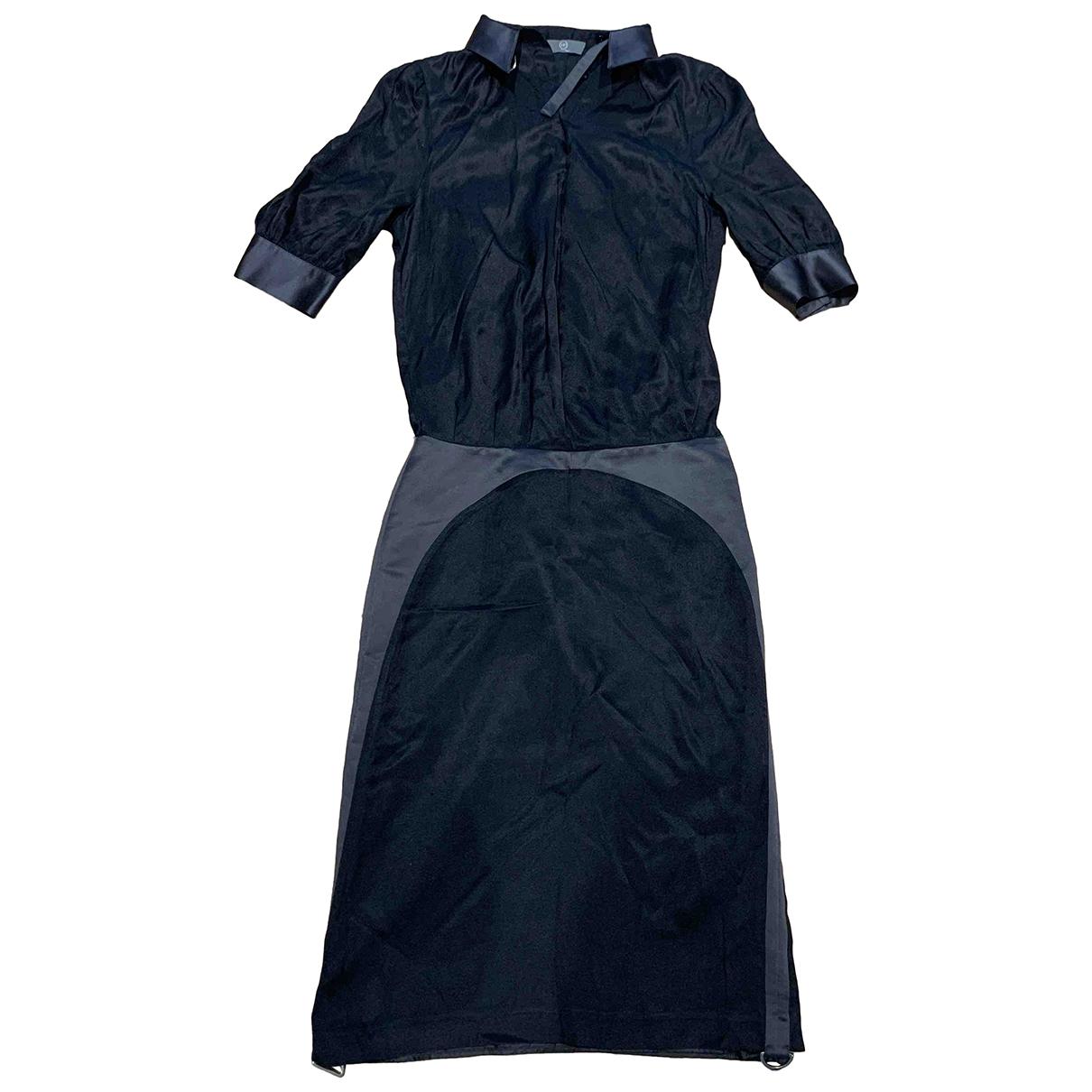Vestido midi de Seda Mcq