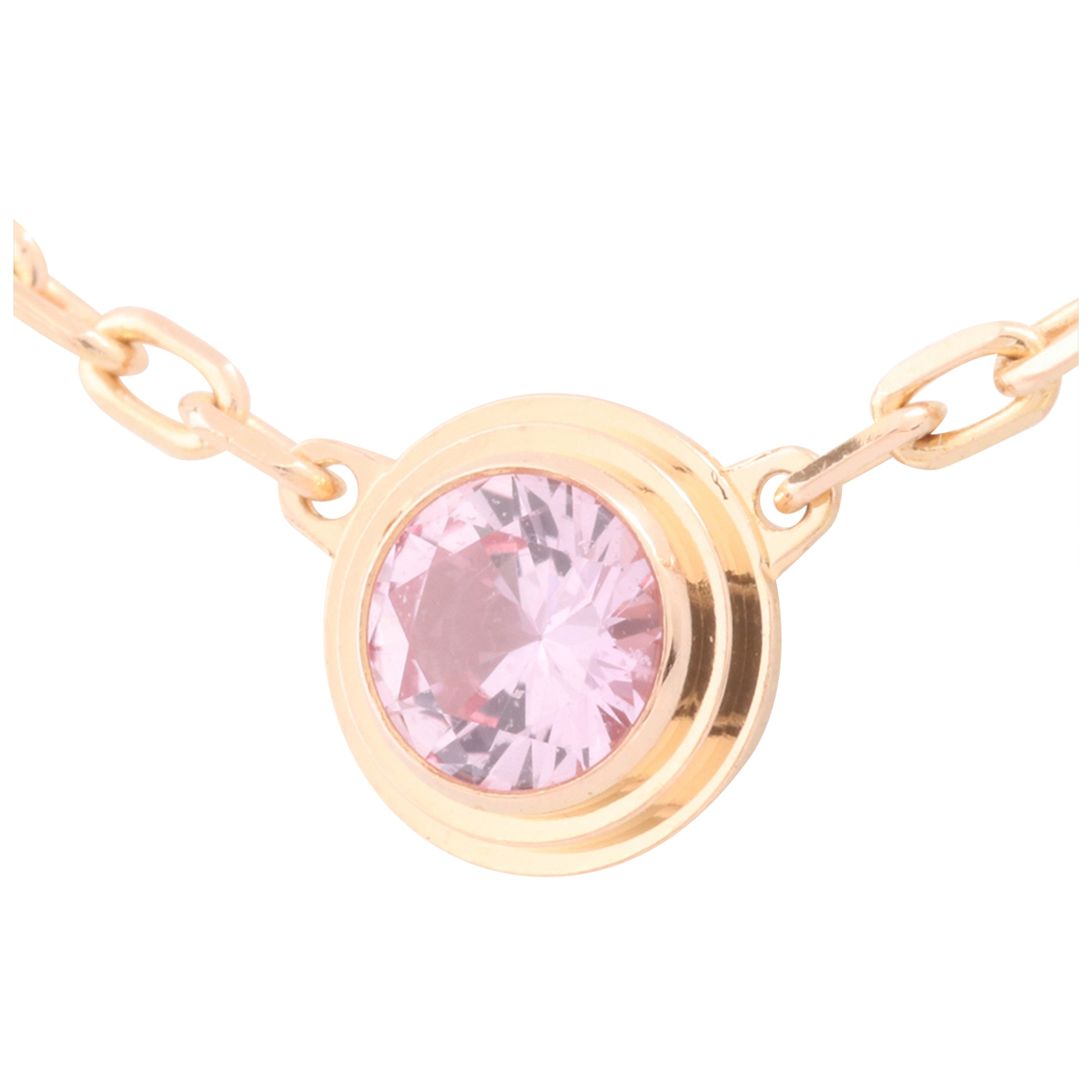Cartier - Collier   pour femme en or rose