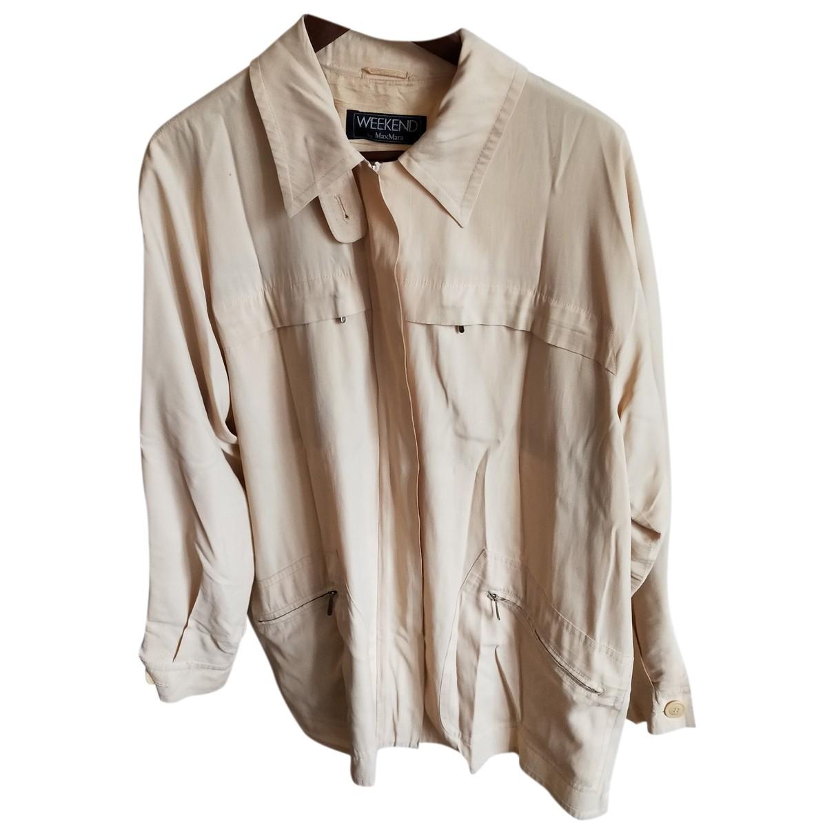 Max Mara Weekend N Beige jacket for Women 40 FR
