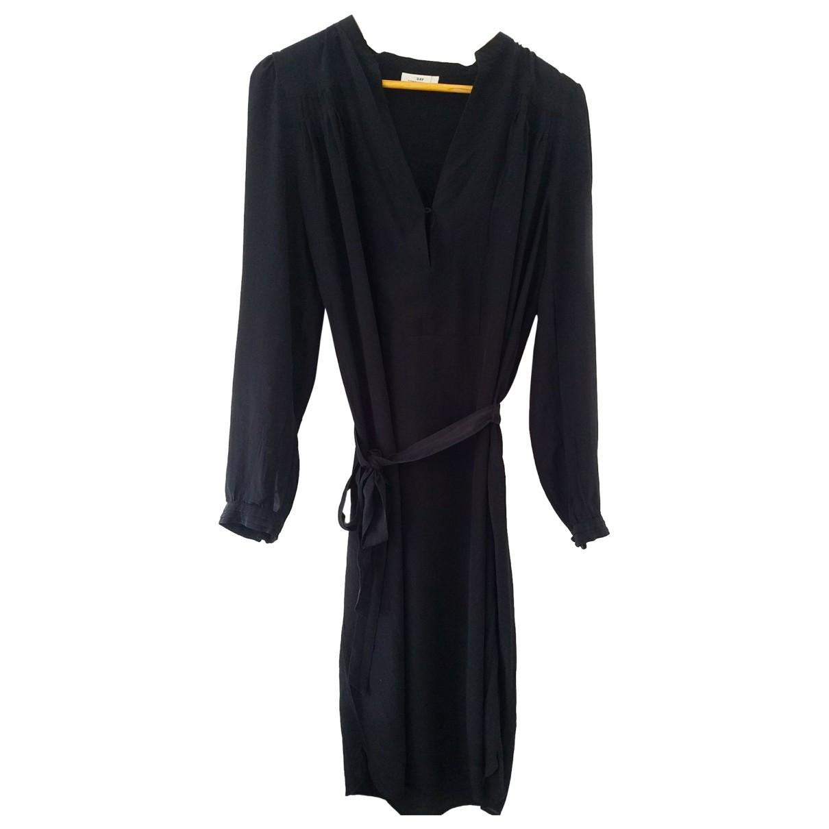 Day Birger & Mikkelsen \N Black Silk dress for Women 40 FR