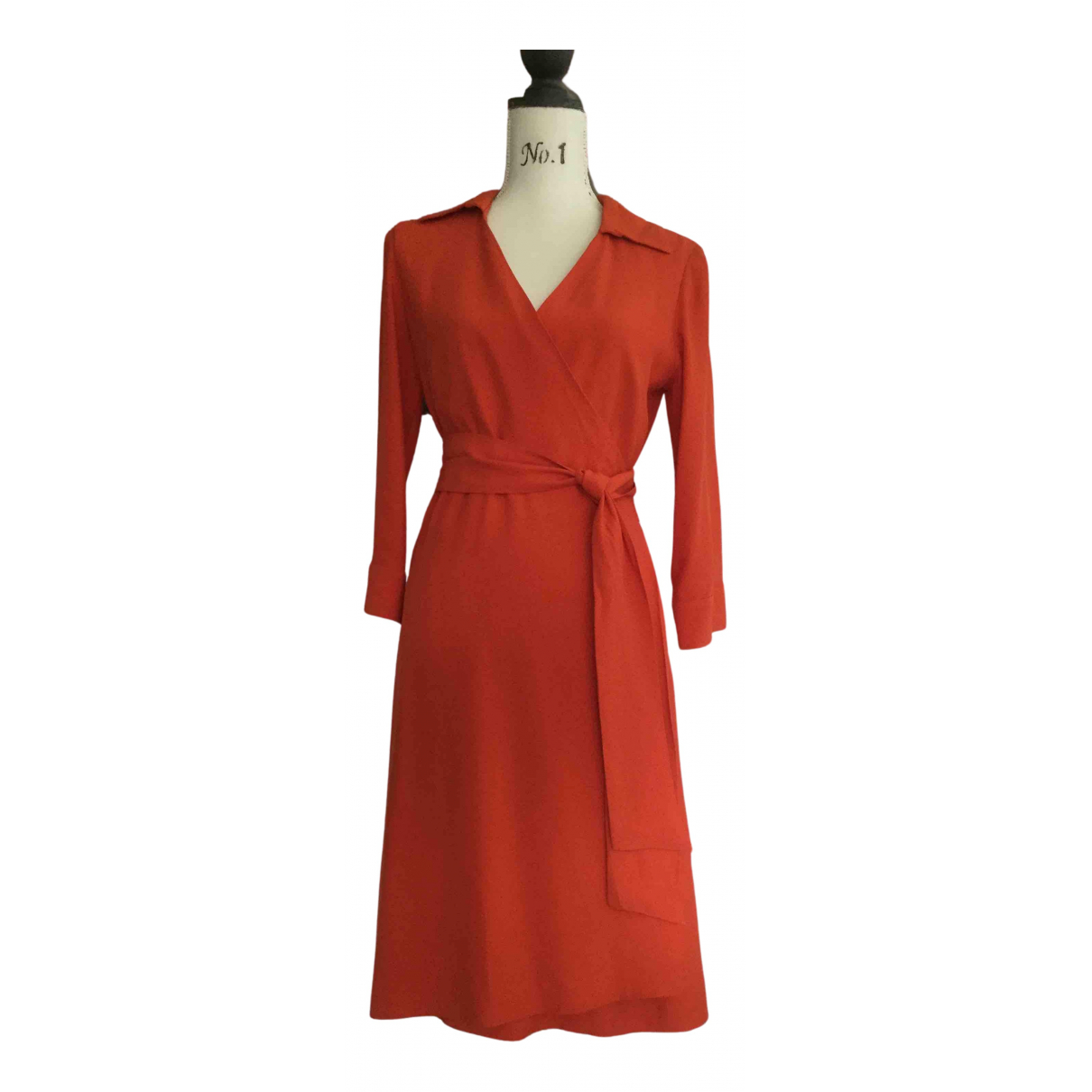 Malo N Orange dress for Women 42 IT
