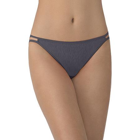 Vanity Fair Illumination Bikini Panty 0018108, 8 , Gray