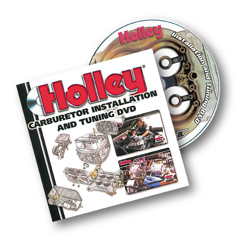 Holley 36-378 DVD - CARB INSTALLATION