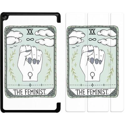 Amazon Fire HD 8 (2018) Tablet Smart Case - The Feminist von Barlena