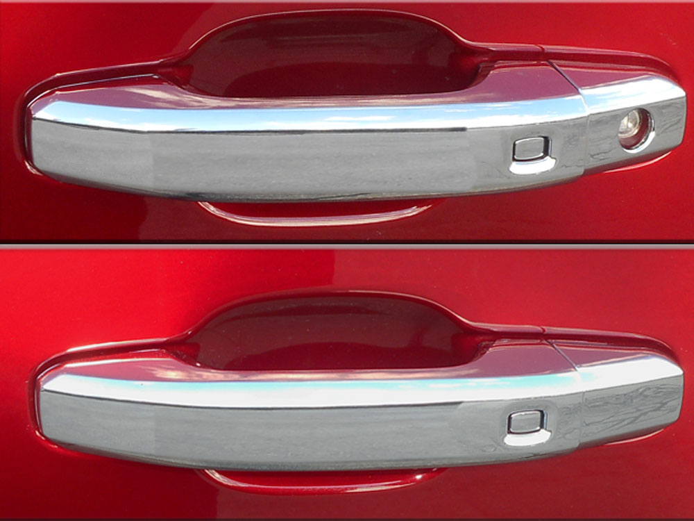 Quality Automotive Accessories  Chrome Plated ABS Plastic Door Handle Cover Kit Cadillac Escalade  15-20