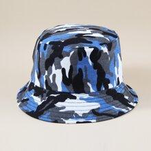 Camo Pattern Bucket Hat