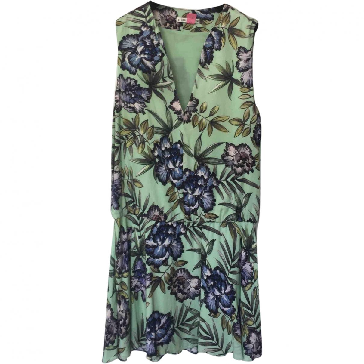 Alice & Olivia \N Green dress for Women 6 US