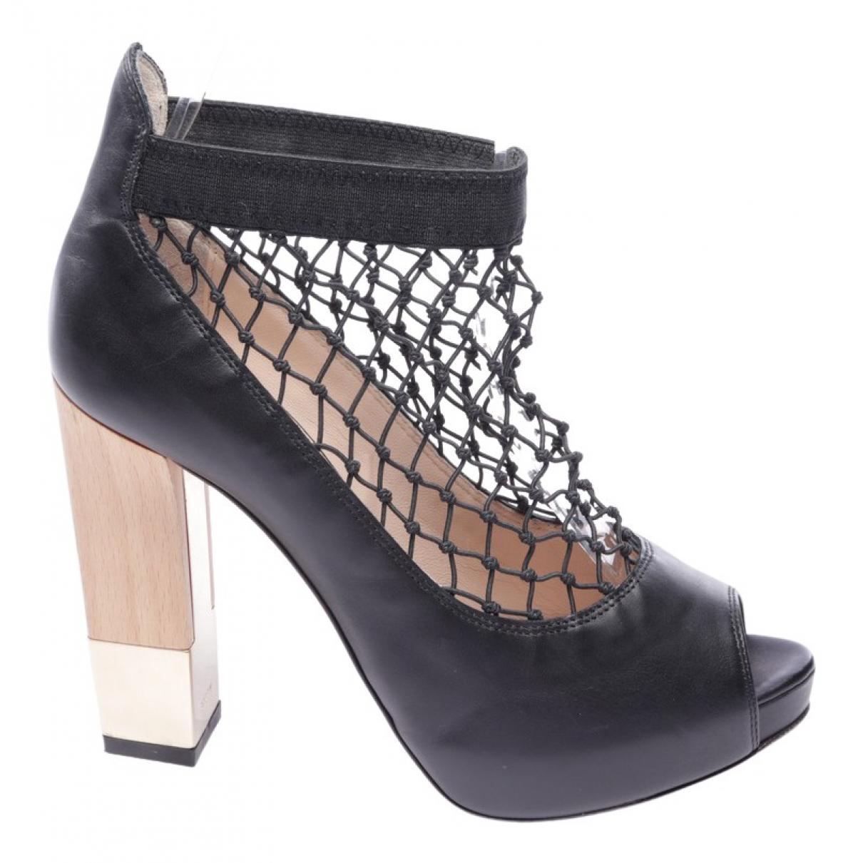 Sandalias de Cuero Bally