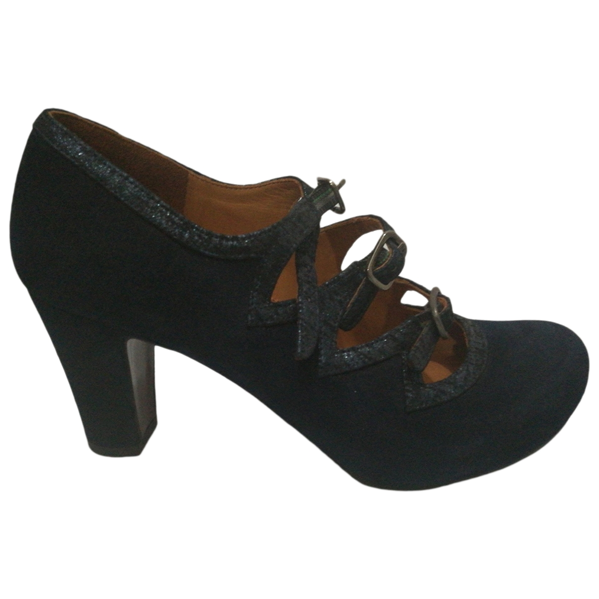 Chie Mihara \N Blue Leather Heels for Women 36 EU