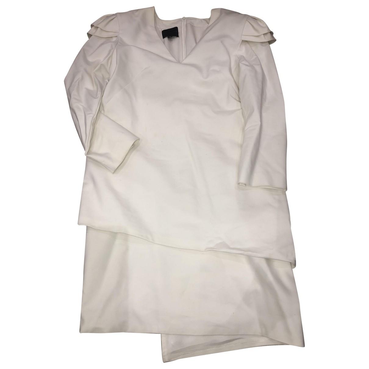 Hotel Particulier - Robe   pour femme en coton - blanc
