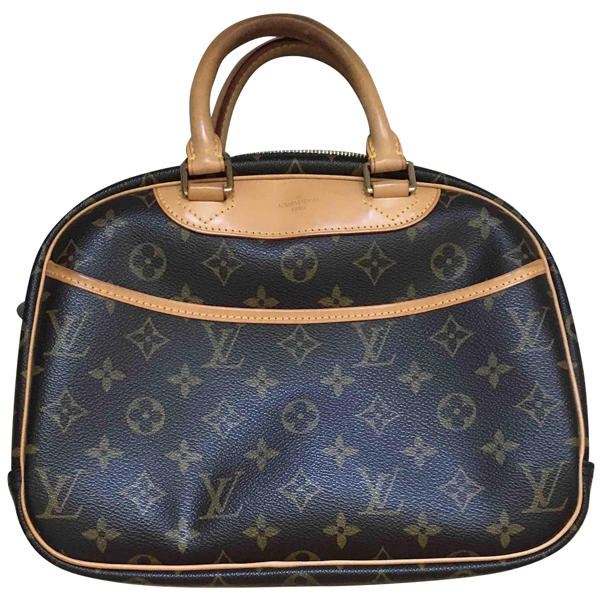 Louis Vuitton Trouville Brown Cloth handbag for Women \N