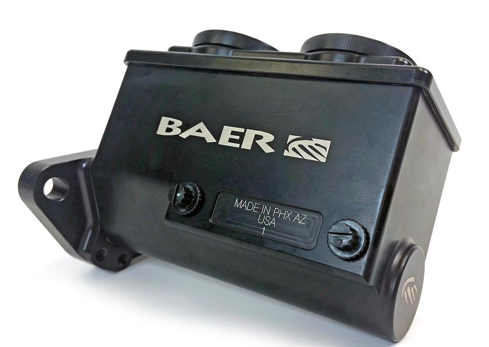 Baer Brakes Brake Master Cylinder Remaster Black Anodized Right Port 15/16 Inch