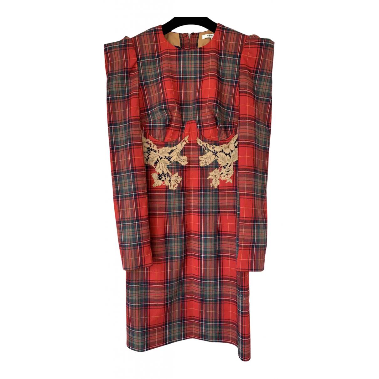 Carven - Robe   pour femme en laine - multicolore