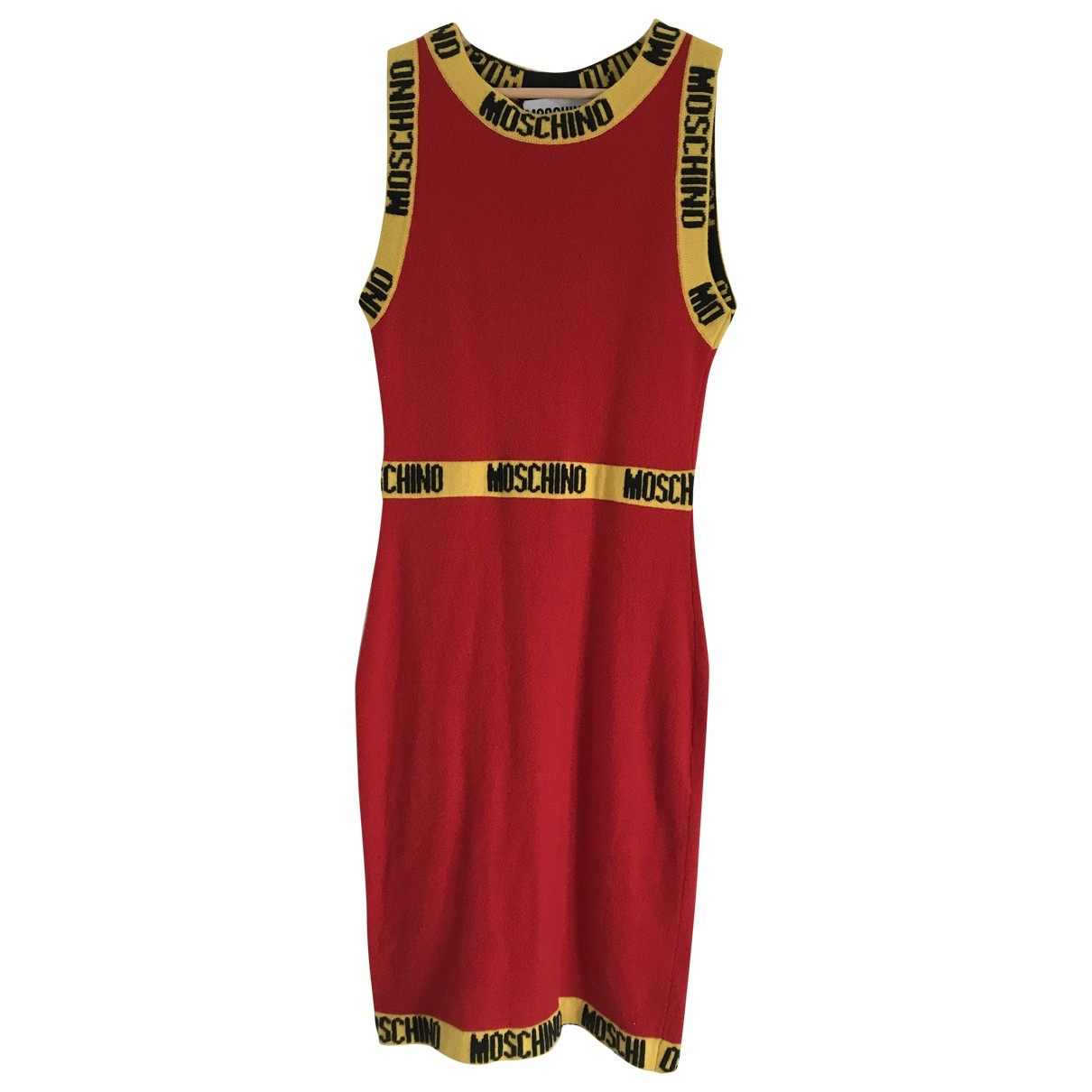 Moschino \N Red Cashmere dress for Women 10 UK