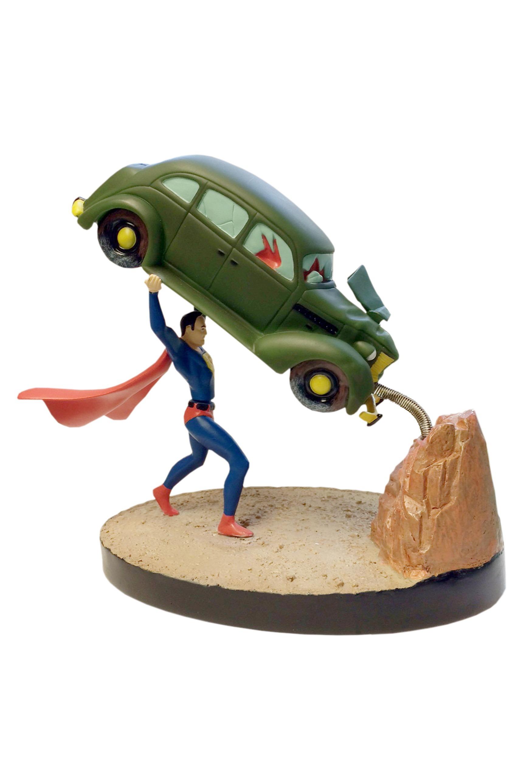 Premium Motion Statue - Superman Action Comics #1