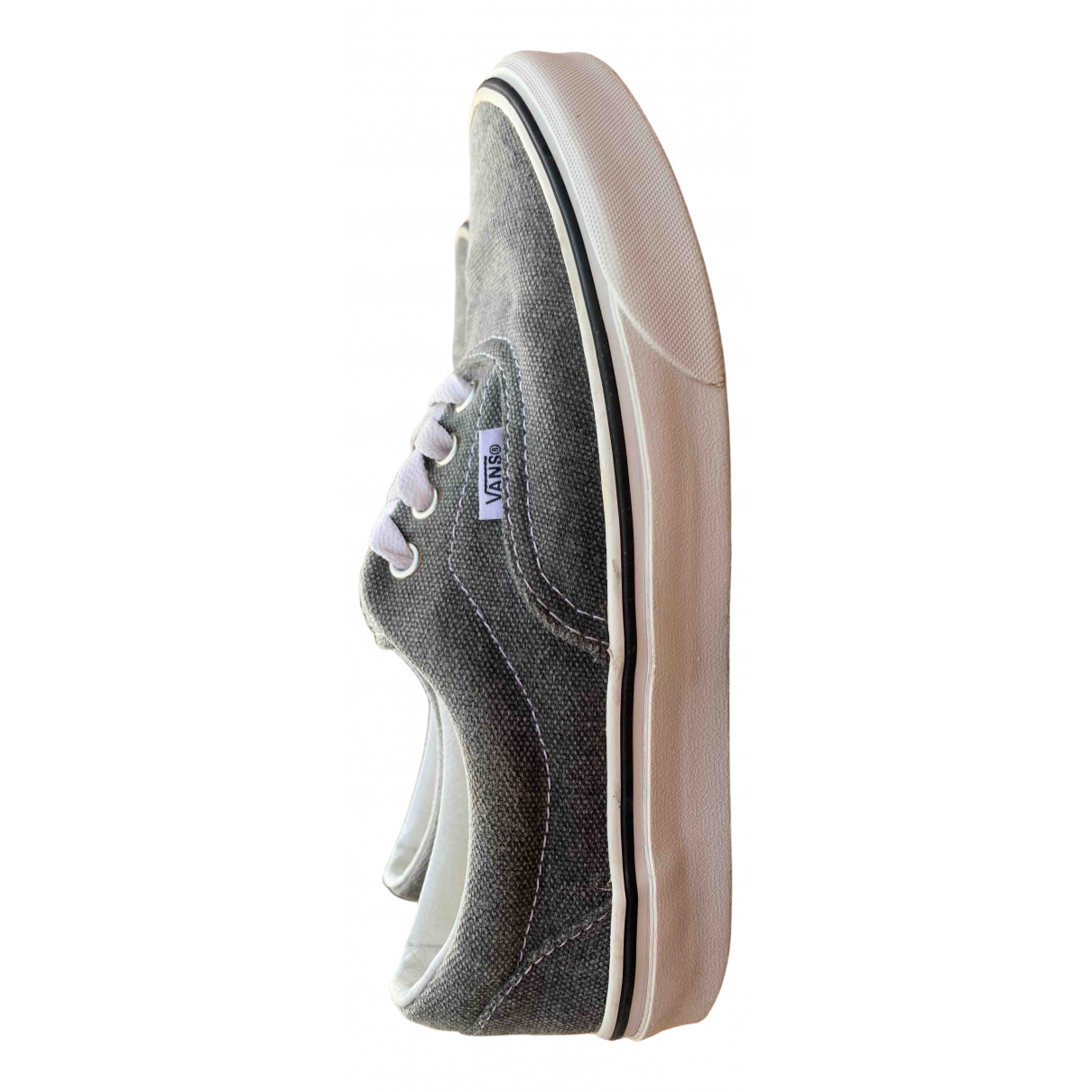 Vans N Grey Cloth Trainers for Women 38 EU
