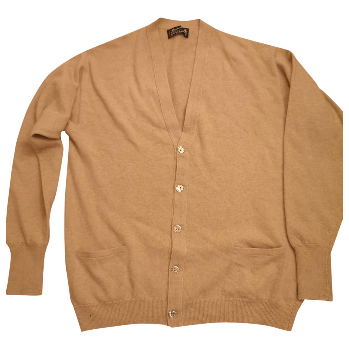 Drumohr N Beige Cashmere Knitwear & Sweatshirts for Men L International