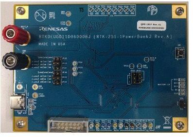 Renesas Electronics RTK0EUG011D06000BJ RTK-251-1 PowerBank 3 Power Management for RTK-251