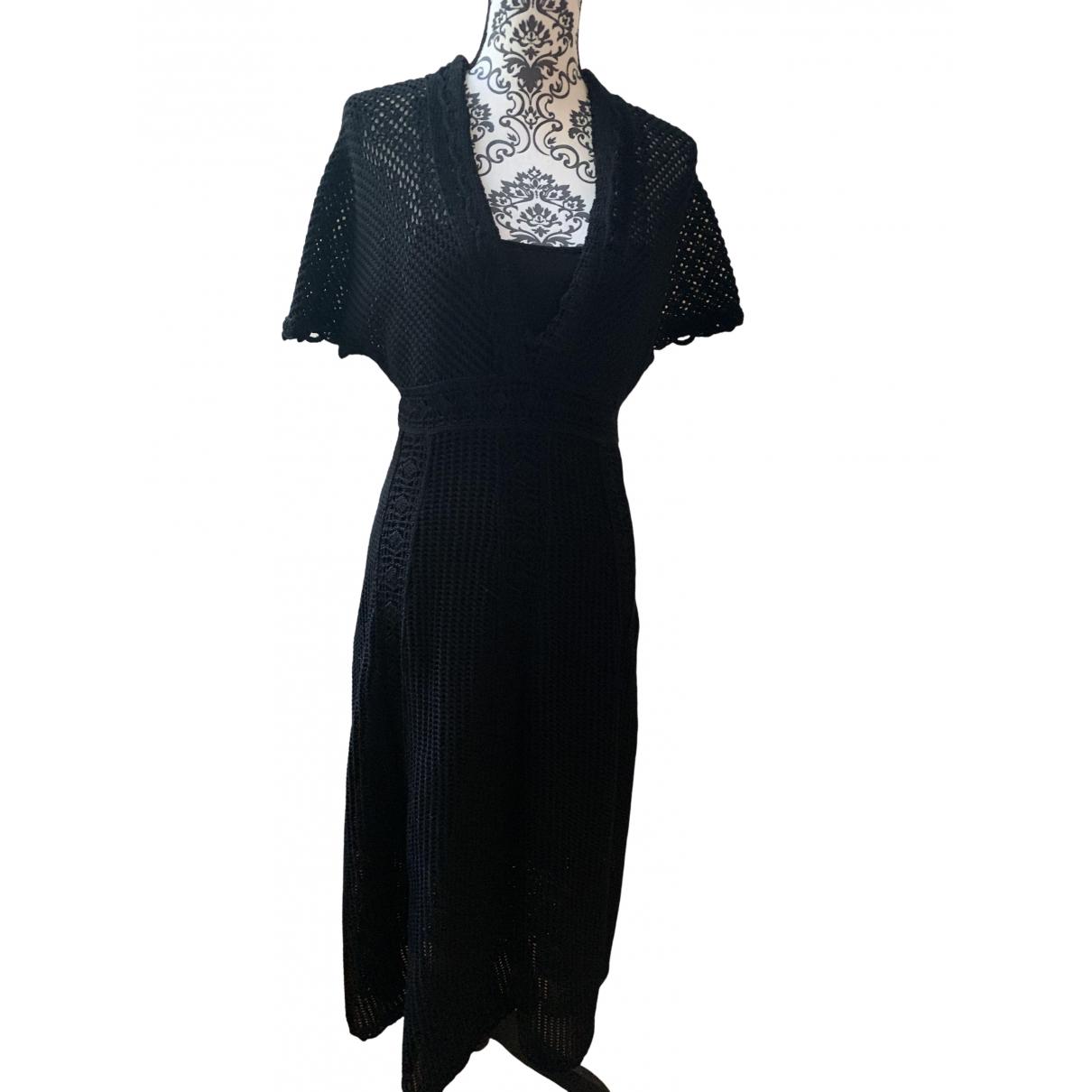Dior \N Black Cotton dress for Women 40 FR