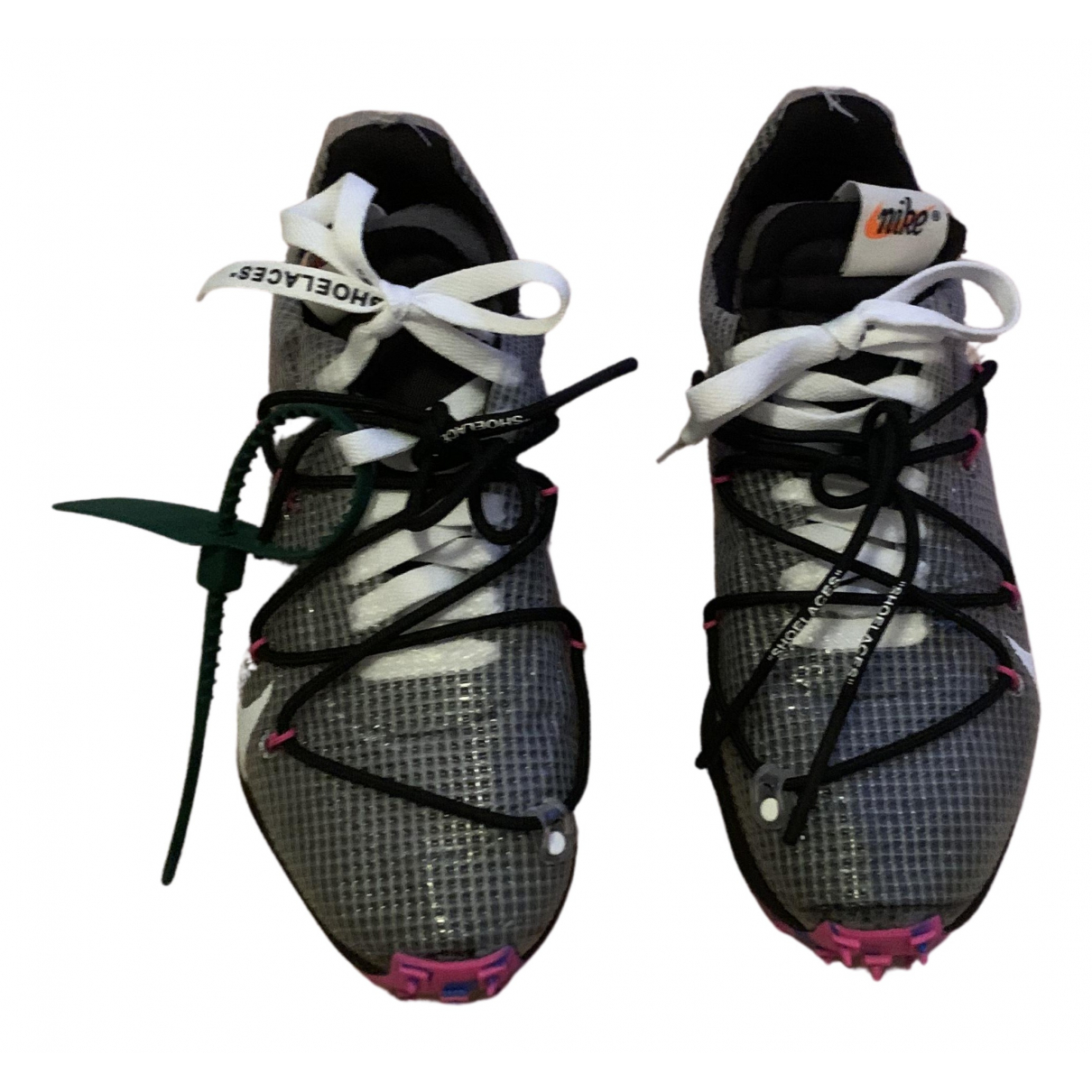 Nike X Off-white Vapor Street Sneakers in  Schwarz Polyester