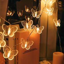 20pcs Butterfly Decor Bulb String Light