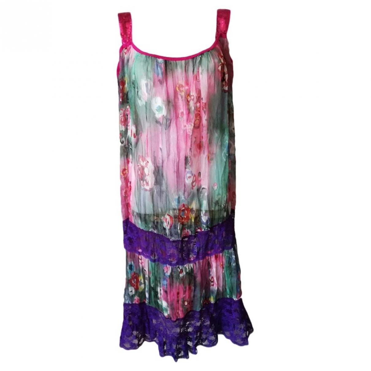 Philosophy Di Alberta Ferretti - Robe   pour femme en soie - multicolore