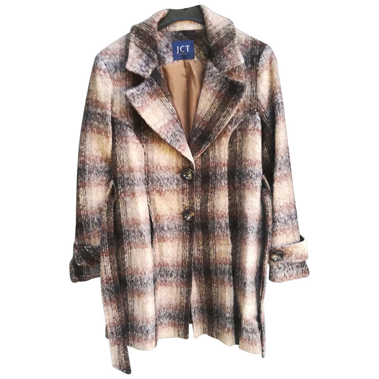 Autre Marque N Multicolour Wool coat for Women 42 IT