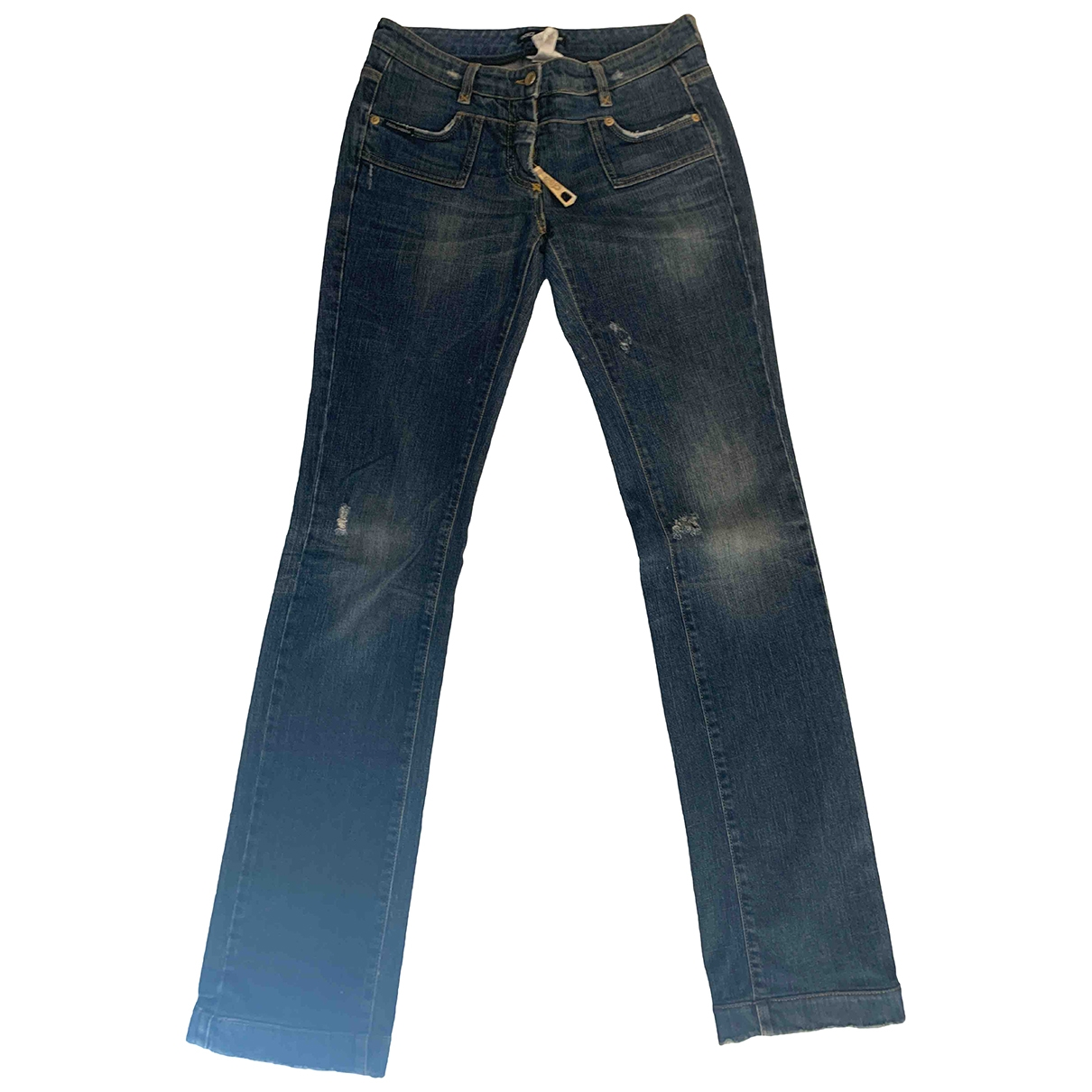 Dolce & Gabbana \N Blue Denim - Jeans Jeans for Women 38 FR