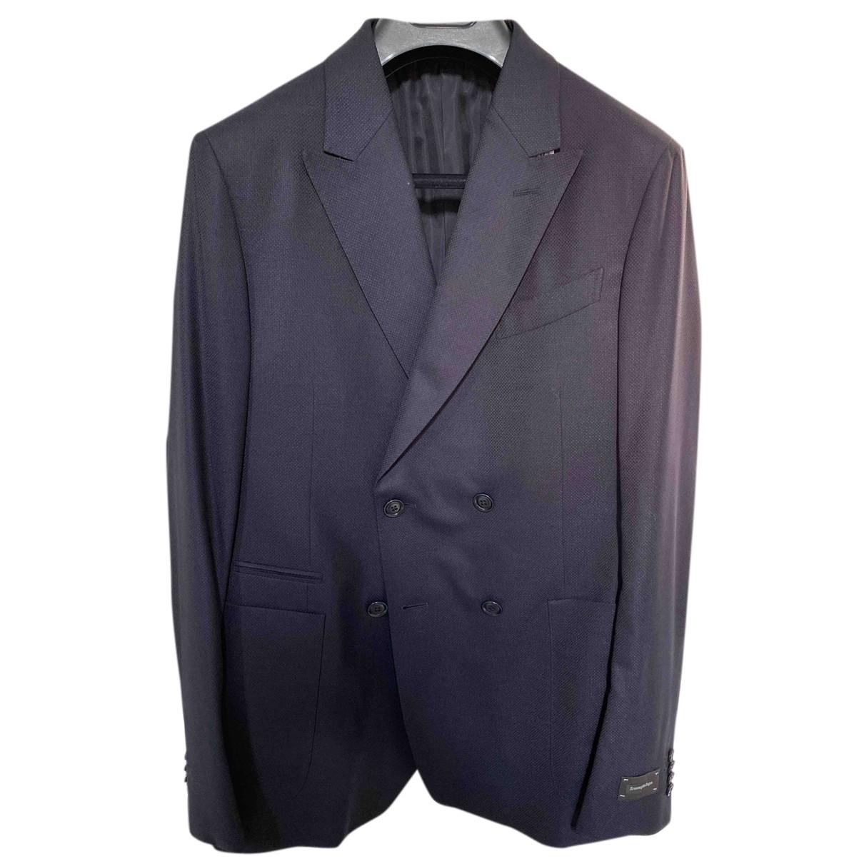 Ermenegildo Zegna - Vestes.Blousons   pour homme en laine - bleu