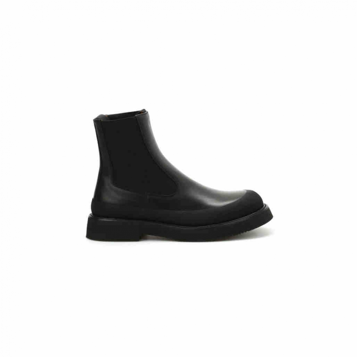 Celine \N Black Leather Ankle boots for Women 36 EU
