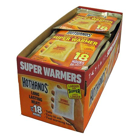 HotHands Hand & Body Super Warmers - 40.0 ea