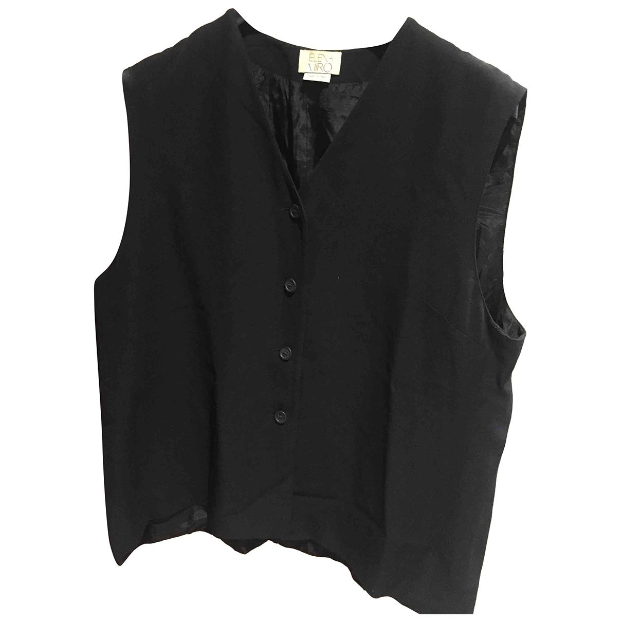 Elena Miro \N Black jacket for Women 48 FR