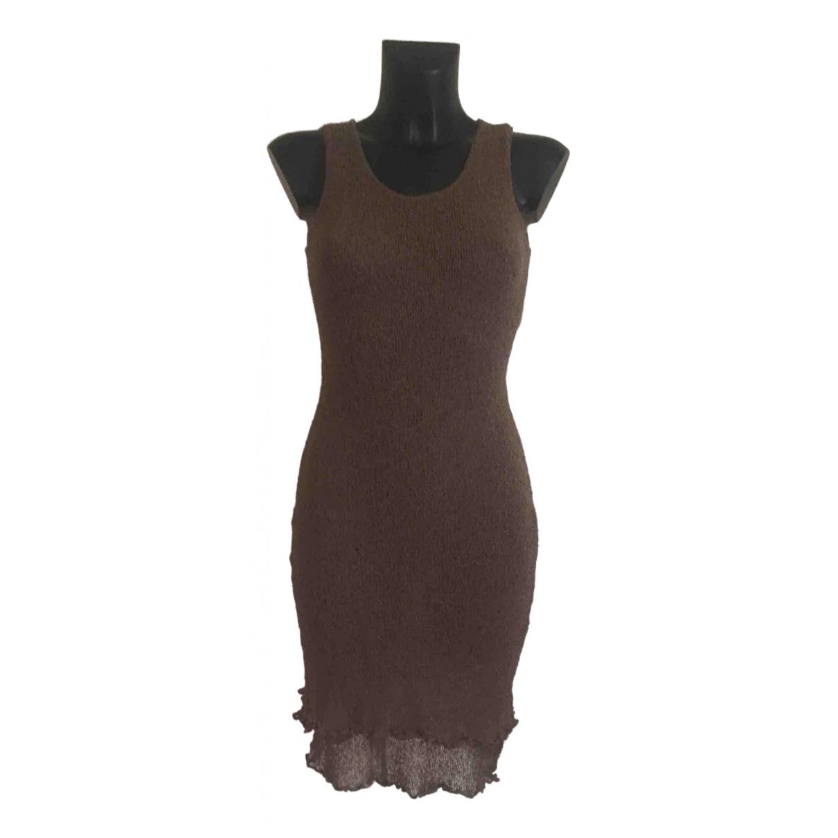 Mango \N Kleid in  Khaki Polyester