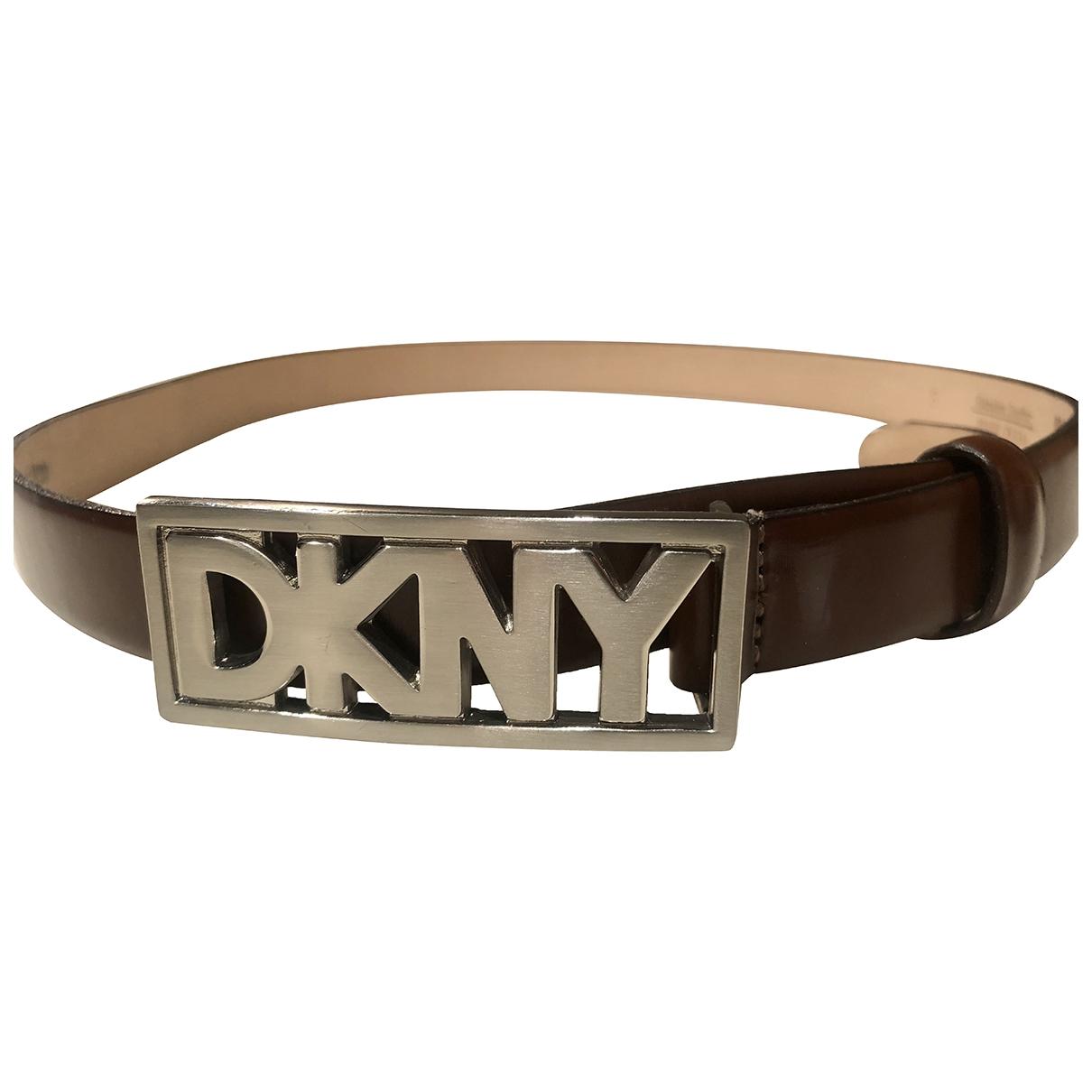 Cinturon de Cuero Dkny