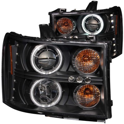 Anzo Projector Headlight Set; w/Halo - ANZ111125