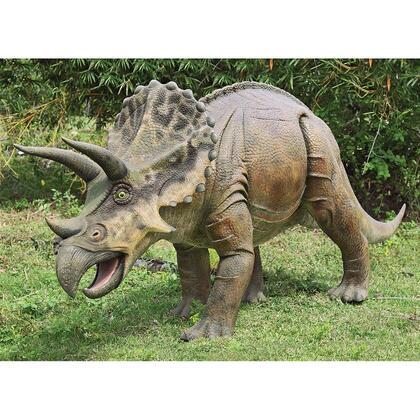 NE100048 Triceratops Dinosaur Statue Ltl