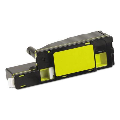 Compatible Dell 331-0779 DG1TR cartouche de toner jaune haute capacite - boite economique