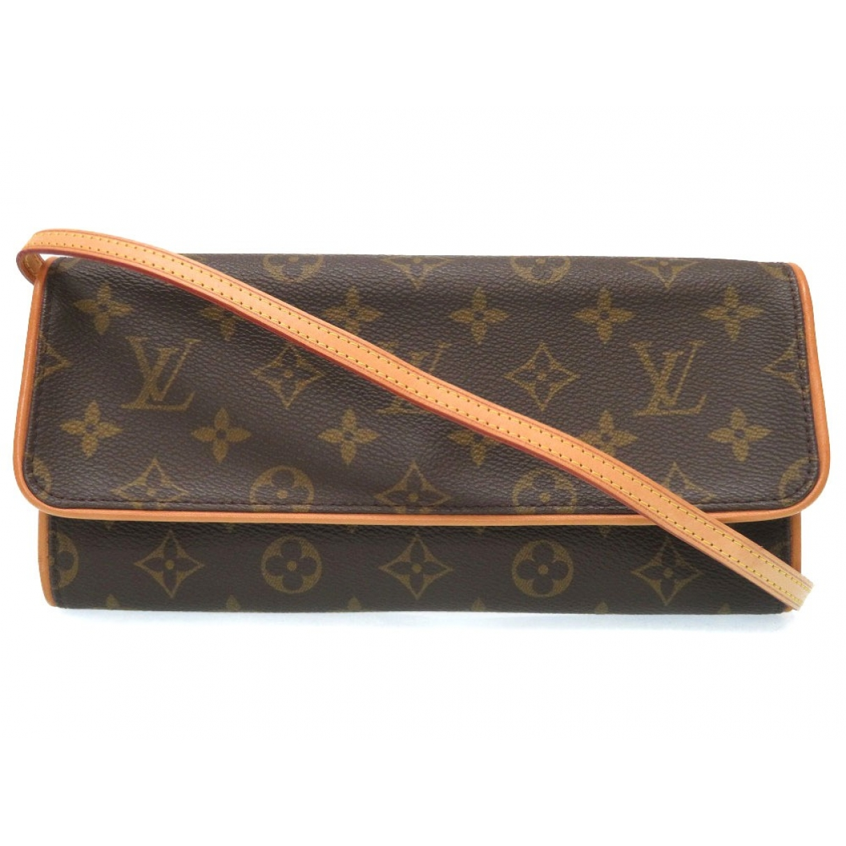 Louis Vuitton Twin Brown Cloth handbag for Women \N