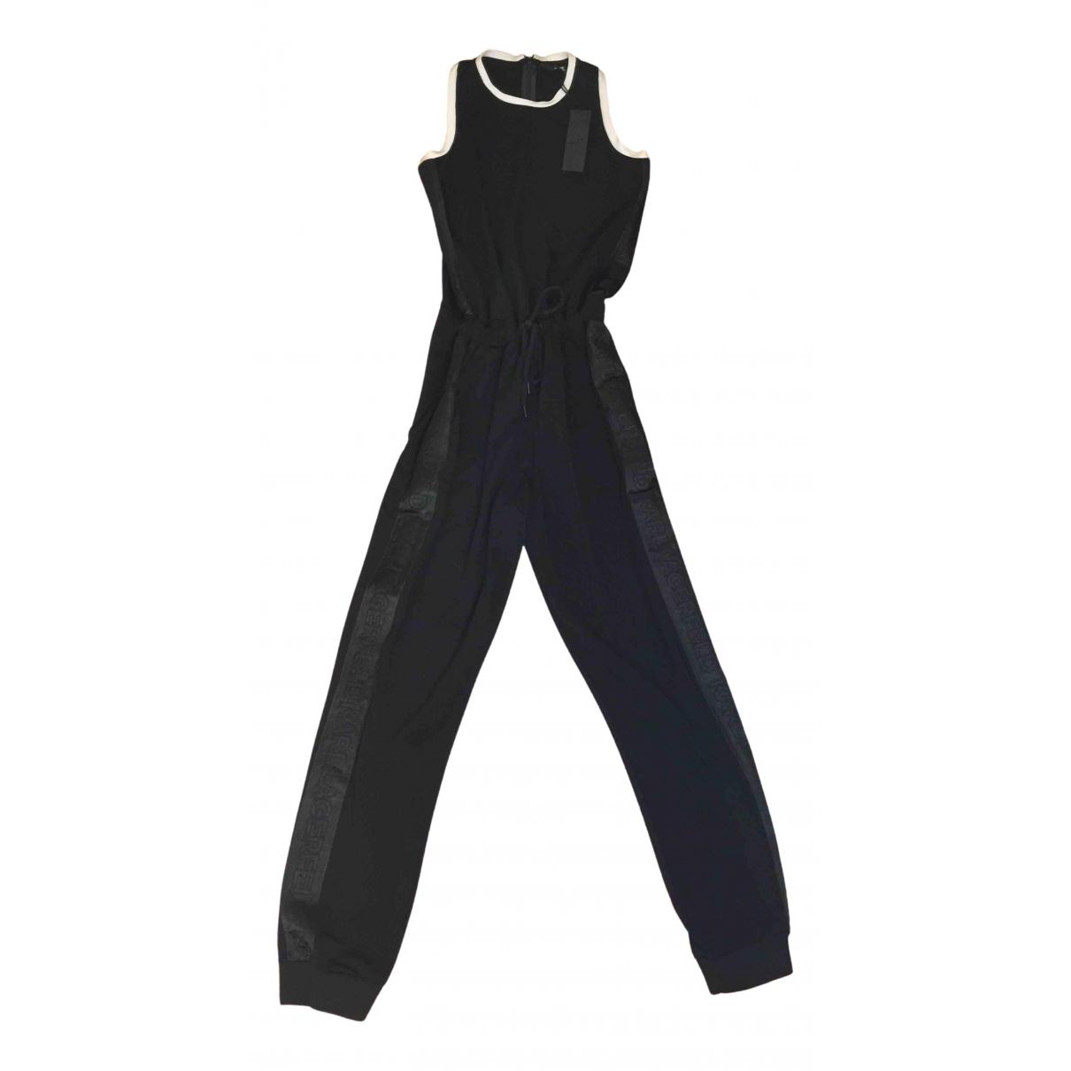 Karl Lagerfeld N Black jumpsuit for Women M International