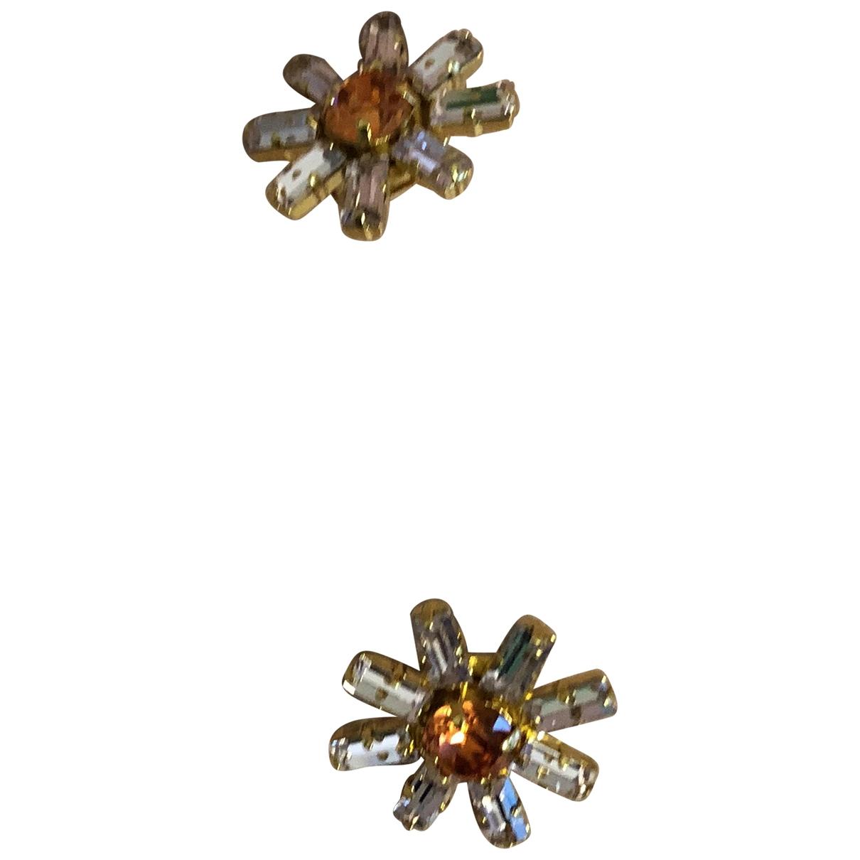 Ca&lou - Boucles doreilles   pour femme en metal - multicolore