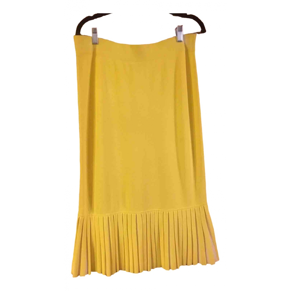 Cos \N Yellow Cotton skirt for Women M International